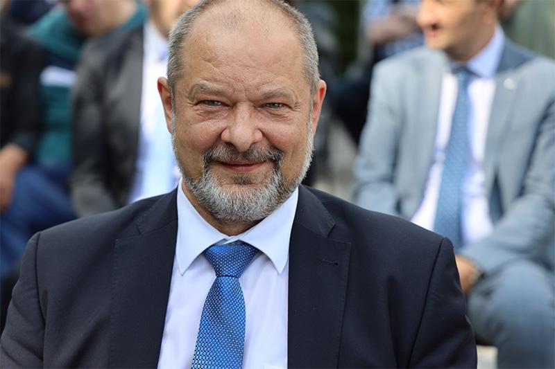 Alojz Kovšca, predsednik DS RS na 40-letnici določitve geometričnega središča Slovenije (GEOSS) in 30. obletnice Republike Slovenije (Foto: M. Skledar)