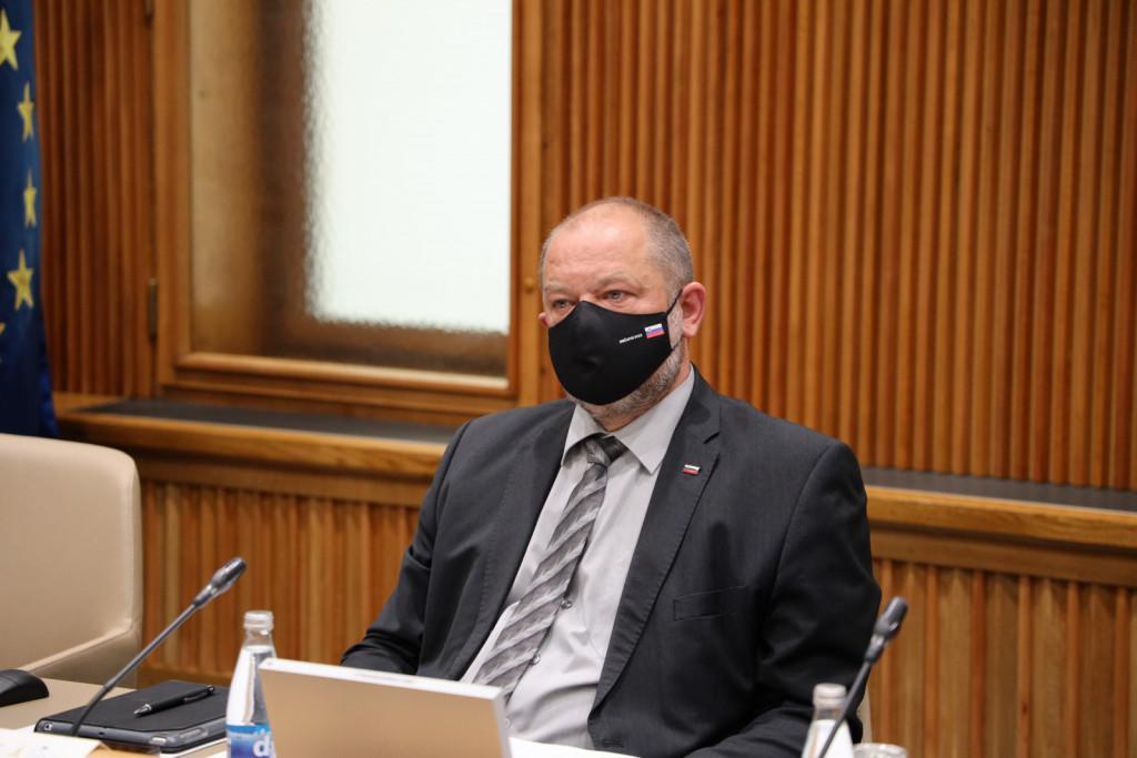 Alojz Kovšca, predsednik DS RS. 24. izredna seja Državnega sveta RS (Foto: Milan Skledar)