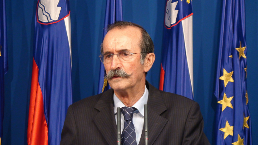Miran Bogataj, kasnejši vodja pogajalske skupine za umik JLA iz Slovenije   Avtor Urad vlade za komuniciranje