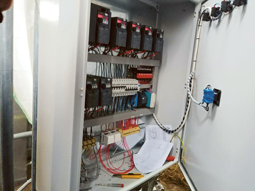 Elektronika krmilnega avtomata Prikazovalnik delovanja