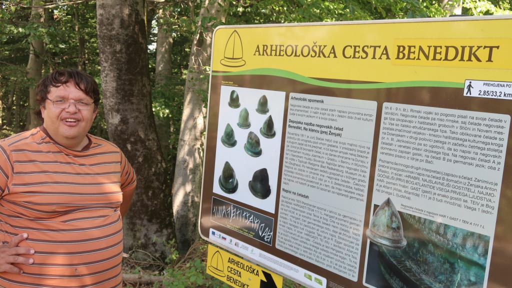 Anton Mlasko že več kot deset let raziskuje zgodovino Slovenskih goric