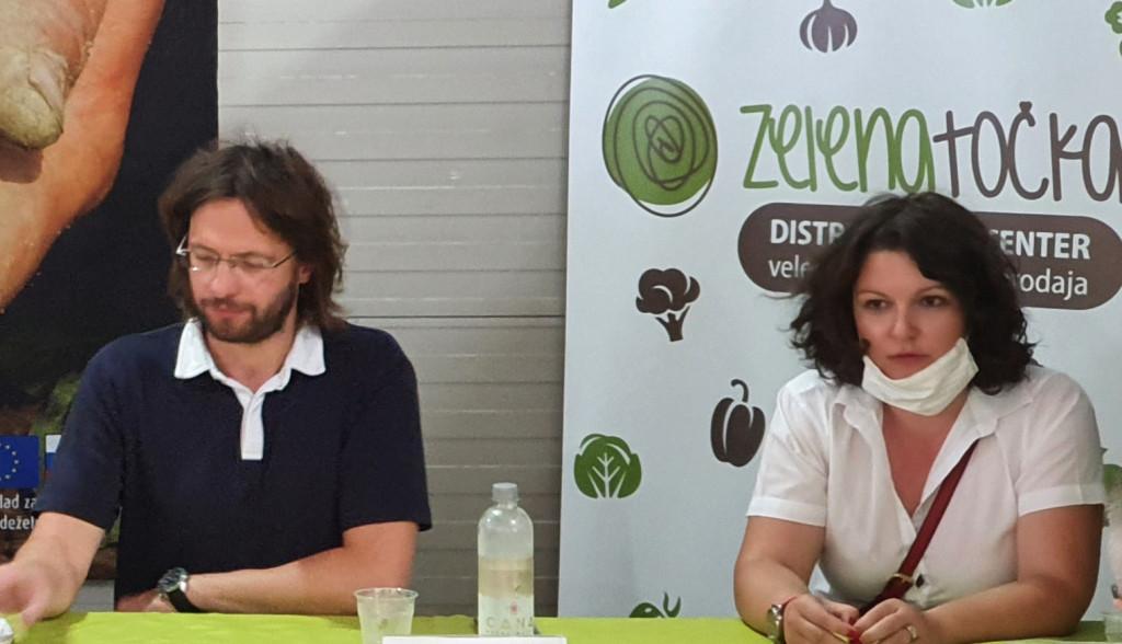 Denis Topolnik in Saša Štraus.
