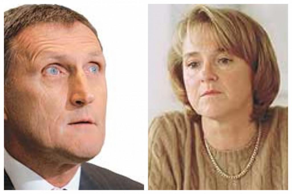 Edvard Oven in Jelka Brataševec. (Foto: Posnetek zaslona- Finance)