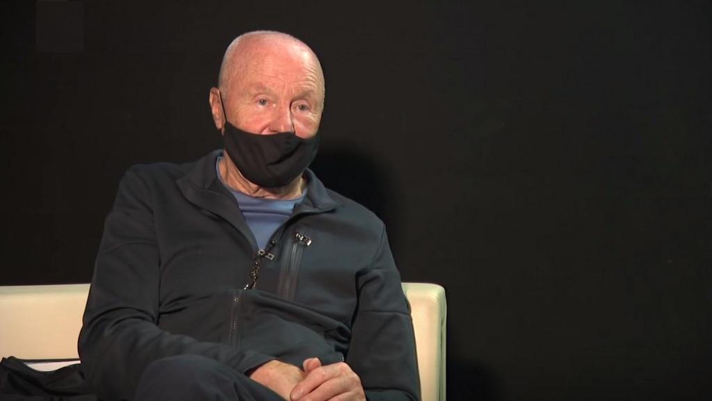 Božo Dimnik, eden najbolj vplivnih predstavnikov  tranzicijskega omrežja v Sloveniji. (Foto: Posnetek zaslona- RTV Slovenija)