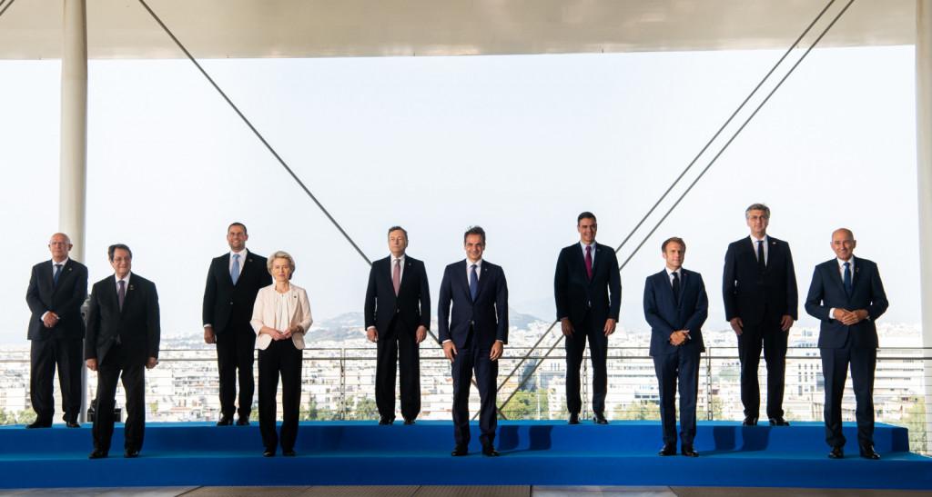 Predsednik vlade Janez Janša na 8. vrhu Sredozemskih držav   Avtor KPV