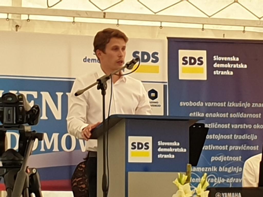 Predsednik SDM Dominik Štrakl se bo na državnozborskih volitvah za glasove volivcev 2022 potegoval na desnem bregu reke Mure