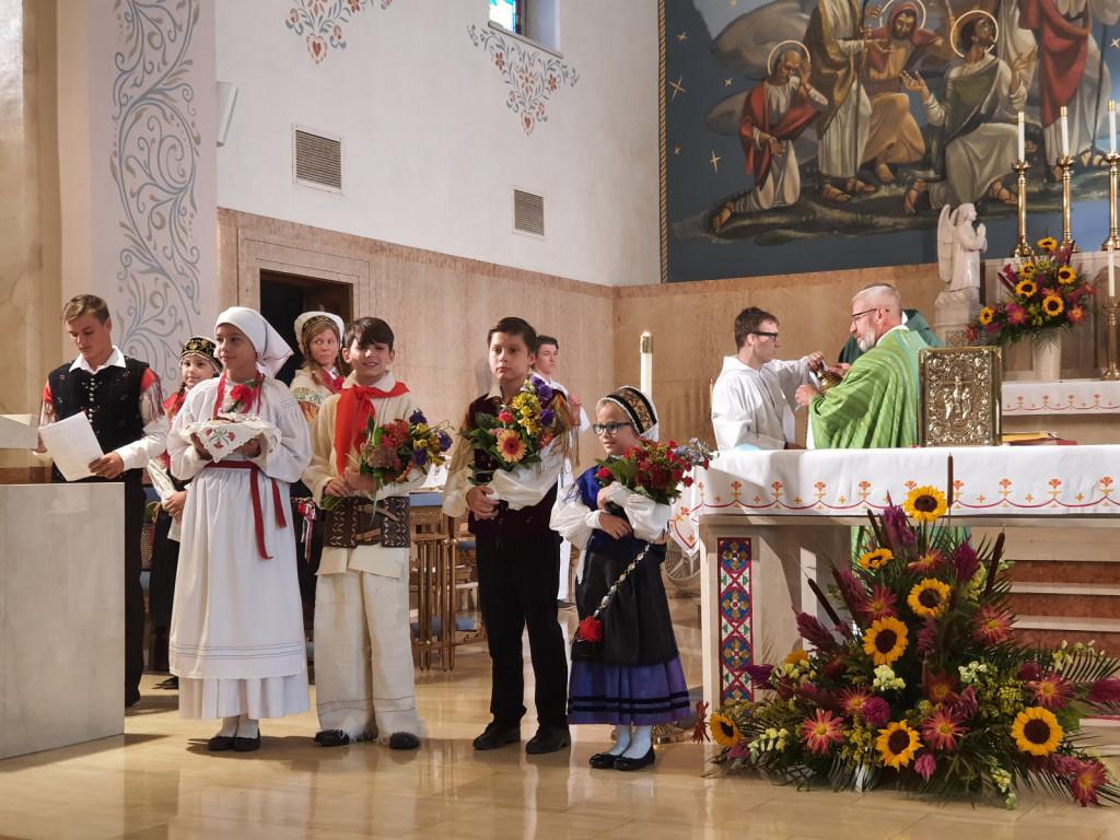 Slovesna spominska maša v cerkvi sv. Vida