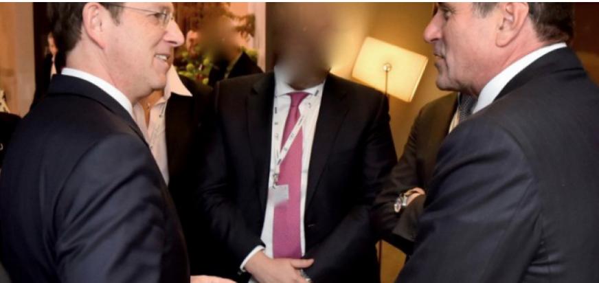 Dragan Šolak se je srečal tudi s takratnim predsednikom vlade Miro Cerarjem. (Foto: Posnetek zaslona- STA)