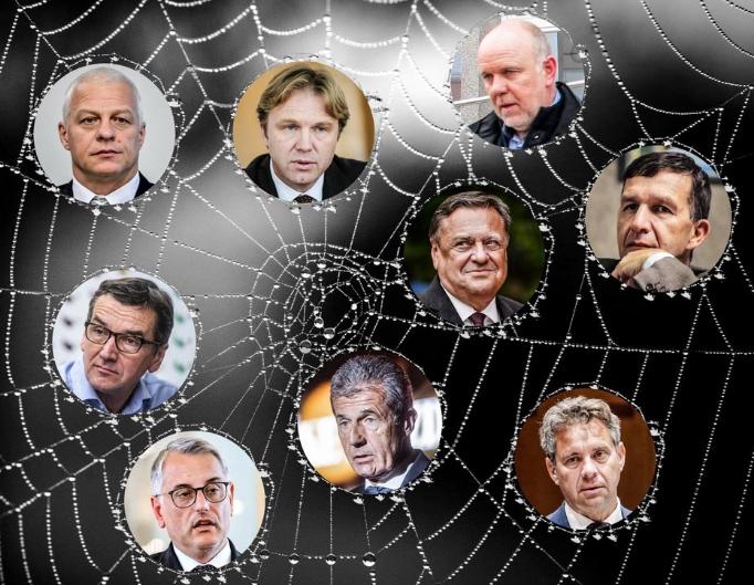 Ali bodo vplivni igralci tranzicijskega omrežja uničili stranko Levica? (Foto: Posnetek zaslona, Nova24tv, Matic Štojs Lomovšek)