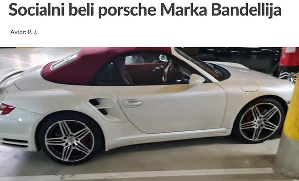 Bandellijev Porsche Foto TW